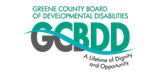 Greene County Board of Development Disabilities logo and link